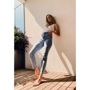 LEVI'S Wedgie Icon Fit High Rise Jeans Tango Light